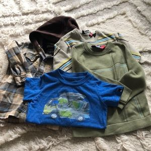 Other - Lot of Quicksilver Tops for sizes 2T-4T